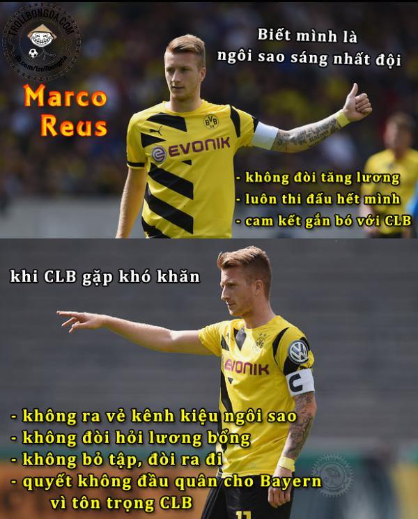 Sự trung thành của Marco Reus
