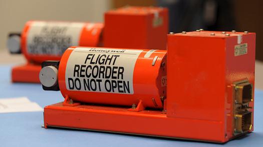 Hộp đen, thiết bị lưu trữ thông tin liên quan đến chuyến bay. Ảnh: Google Images