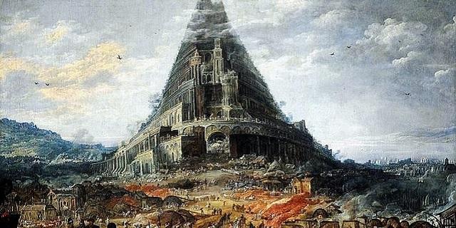 Ngọn tháp trở nên dang dở