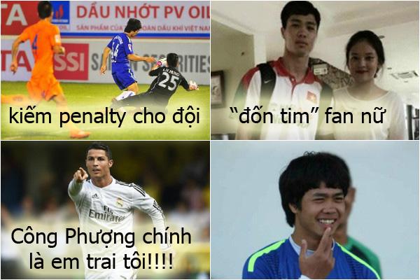 Công Phượng và Ronaldo là anh em rồi nhé!