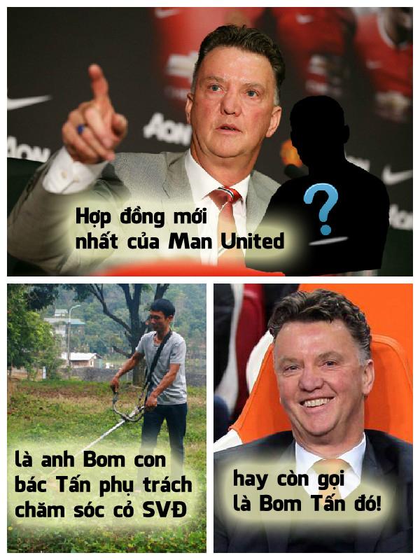 Bom tấn của Man United ra là vậy
