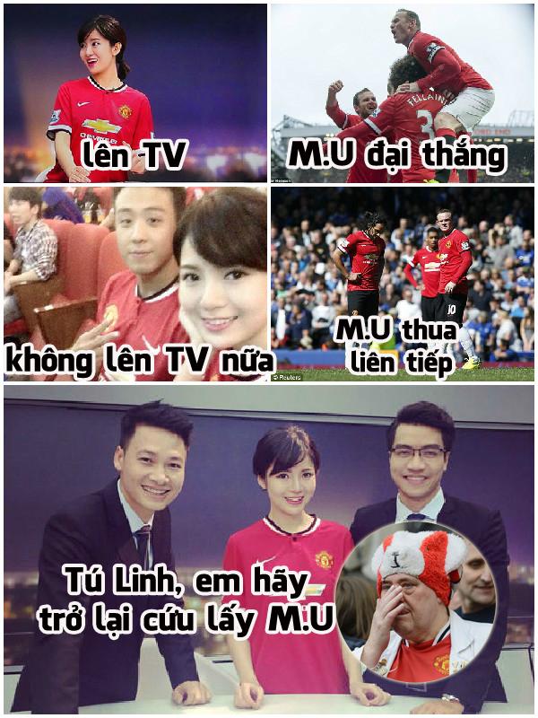 Fan Man United đang rất mong chờ Tú Linh trở lại