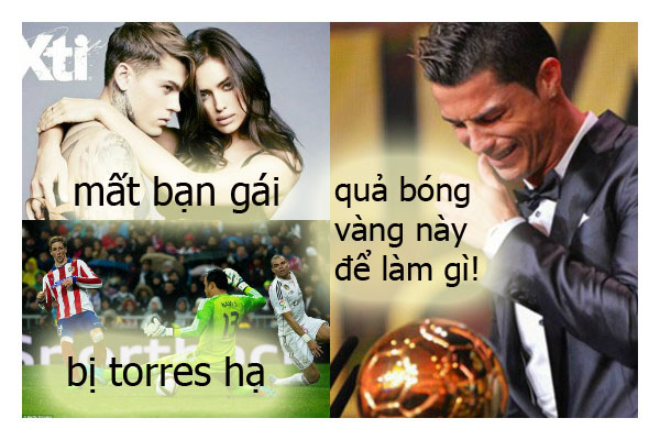 Nhưng mọi chuyện sau đó với Ronaldo quả bi kịch