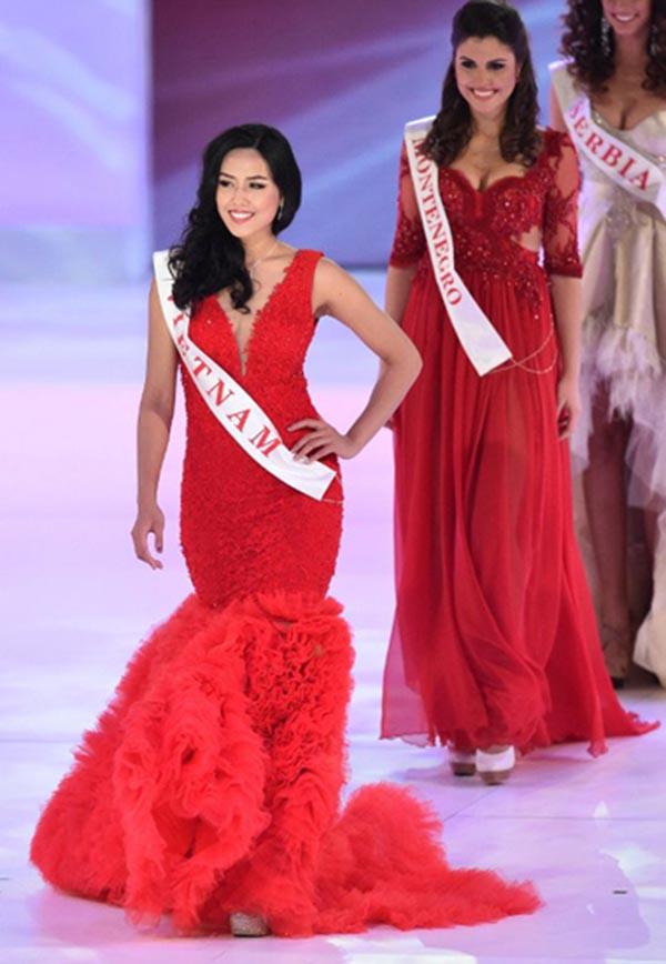 Dấu ấn lớn nhất mà Nguyễn Thị Loan đạt được là lọt Top 25 khi đại diện cho Việt Nam tham gia Hoa hậu thế giới 2014.
