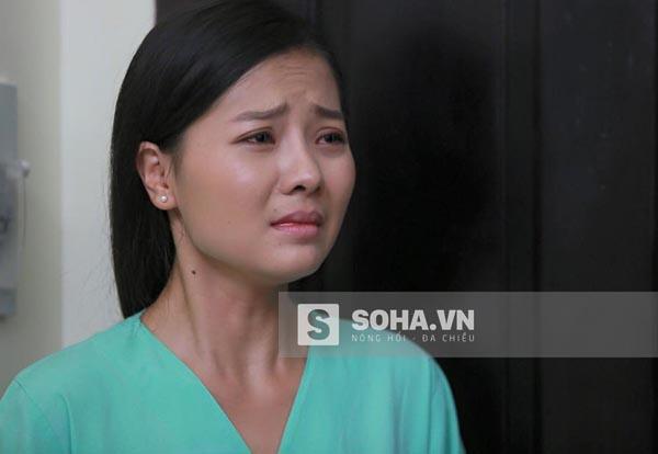 Hình ảnh của Khánh Hiền trong phim truyền hình Oan gia khó tránh.