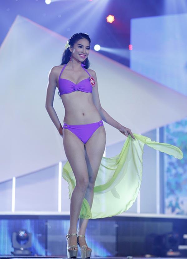 Dù được đánh giá cao, song Phạm Thị Hương chỉ đạt thành tích Top 10 chung cuộc.