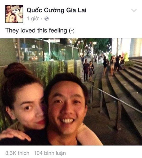 Sang năm 2015, khi chuyện ly hôn của Hồ Ngọc Hà đã rõ mười mươi, Cường Đô la không ít lần bày tỏ sự thương nhớ, tiếc nuối bằng hình ảnh thân thiết với vợ cũ.