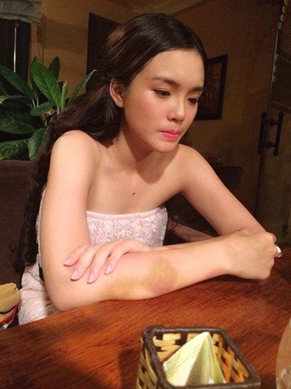 Cô diễn viên nhí năm nào gây bất ngờ với ngoại hình ngày càng xinh đẹp và quyến rũ.