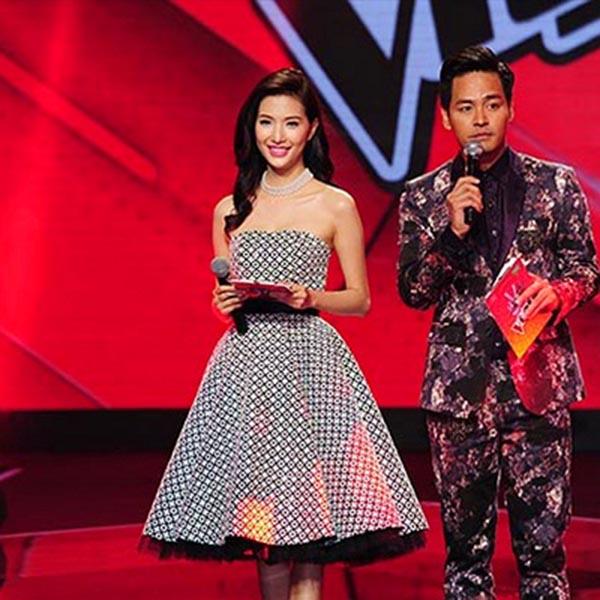 Hiện tại, Mỹ Linh đang dẫn dắt hậu trường của sân chơi The Voice 2015 song cô chưa để lại nhiều ấn tượng với cách dẫn nhạt, hay mắc lỗi.