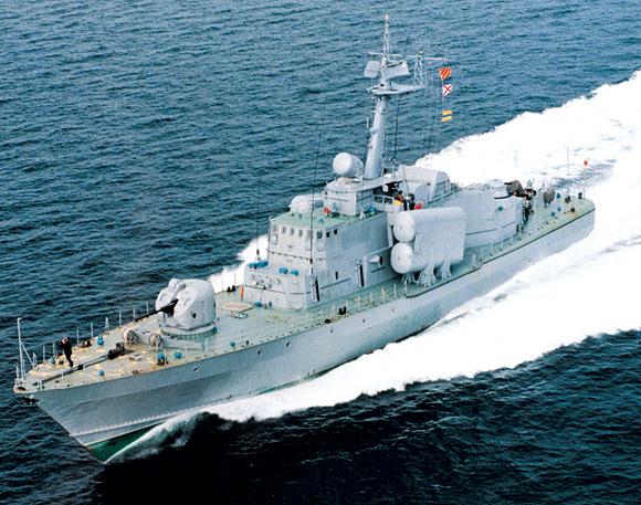 Tàu hộ vệ tên lửa Hiddensee