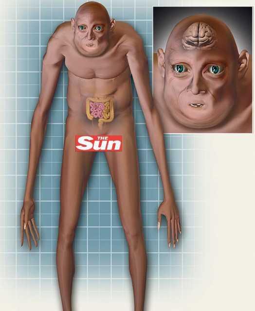 Năm 2164 - Con người sẽ biến thành một loài động vật kinh dị (nửa người, nửa thú)