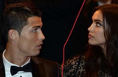 Chia tay Irina Shayk có thể khiến sự nghiệp của Ronaldo đi xuống.