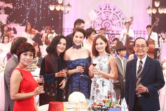 Thanh Mai trở thành MC quen thuộc của VTV khi đảm nhiệm vị trí người dẫn chương trình Sức sống mới.