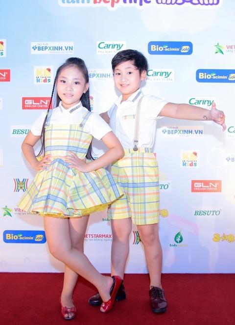Top 4 Vietnams got talent - Gia Linh và Gia Bảo - cũng tham gia cuộc thi năm nay.