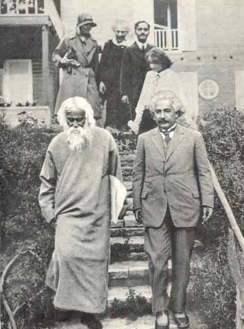 Cuộc gặp gỡ lớn giữa Einstein và Tagore