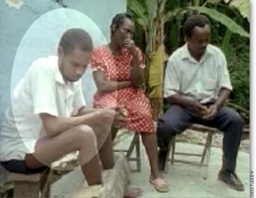Wifred Doricent được xác nhận chết năm 1988 và sau đó xuất hiện năm 1989 tại một ngôi làng ở Haiti.