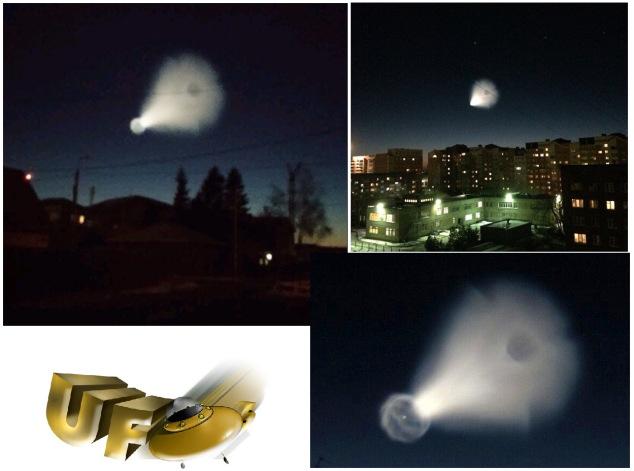 Nhiều trang thông tin về UFO đã đăng tải sự việc này