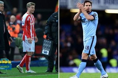 Shenton rất hạnh phúc khi được đổi áo với Lampard.