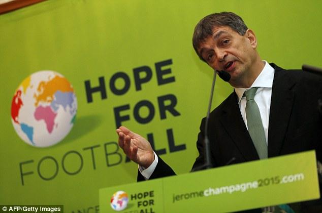 Jerome Champagne – cựu Tổng thư ký FIFA