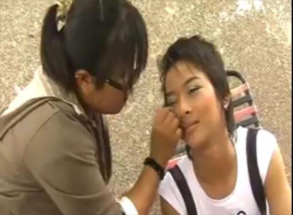 Một hình ảnh của Hoài Lâm trong MV Người đến sau.