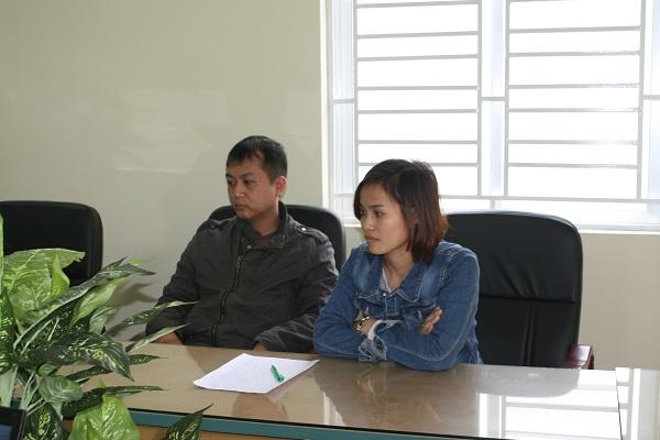 Ông Nguyễn Mạnh Trường và y sĩ Nguyễn Thị Hài
