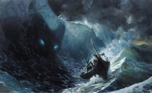 Trong văn học Do Thái, Leviathan được mô tả giống như một con rồng sống ở nơi tận cùng biển cả.