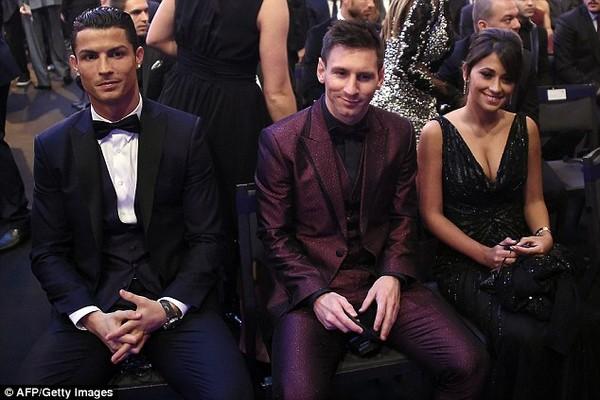 Ronaldo và Messi.
