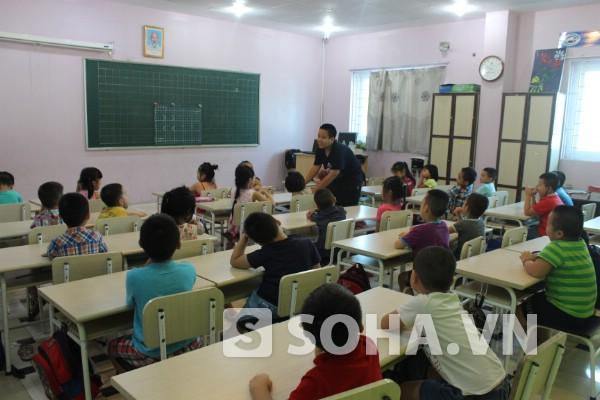 Lớp học đặc biệt của Nam.