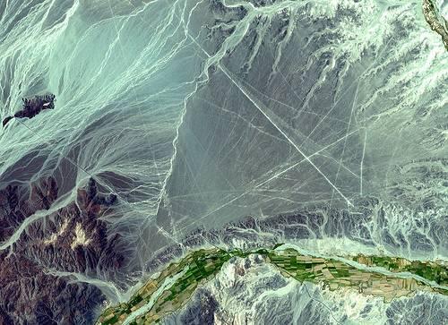 Những đường Nazca nhìn từ vũ trụ