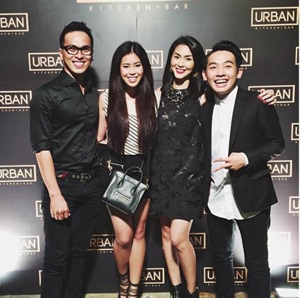 Từ ngày Hà Tăng cưới Louis Nguyễn (anh trai Thảo Tiên), Thảo Tiên thoải mái lộ diện trong các dự kiện có đông nghệ sĩ tham gia.