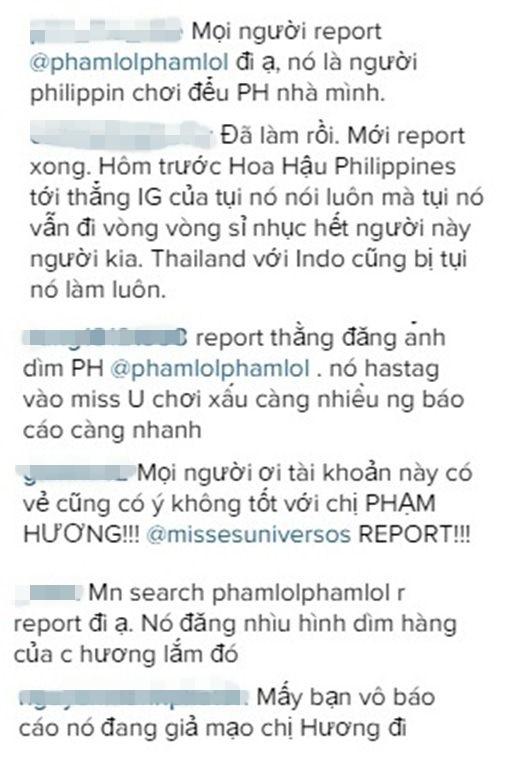 Cộng đồng mạng Việt cùng nhau report tài khoản xấu.