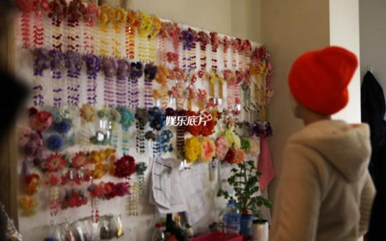 Phụ kiện dành để trang trí cho tóc của mỹ nhân trong Võ Tắc Thiên 2014.