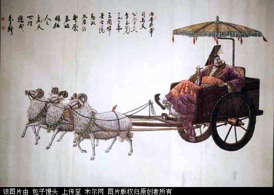 Tiền Tần Vương Phù Kiên - người được đánh giá là 1 trong 5 Hoàng đế xuất sắc nhất lịch sử Trung Quốc cổ đại.