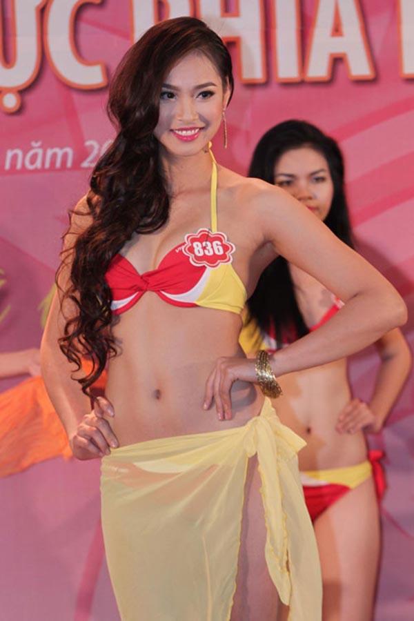 Cô trở thành ứng cử viên sáng giá nhất cho ngôi vị hoa hậu khi sở hữu chiều cao 1m76, số đo 3 vòng: 87-64-97 và có nhiều phần thể hiện tốt trong các vòng thi phụ.