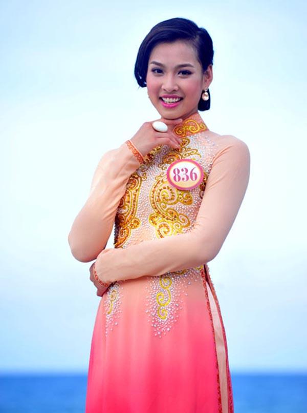 Với đấu trường nhan sắc lớn nhất Việt Nam, Vương Thu Phương được đánh giá cao bởi nhan sắc hài hoà, thanh tú.