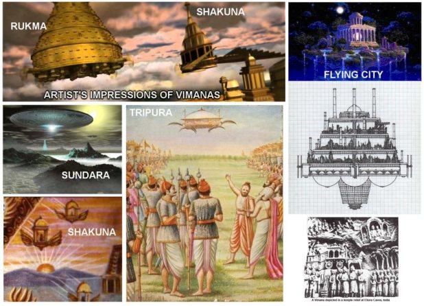 Những dấu tích cổ xưa về UFO?