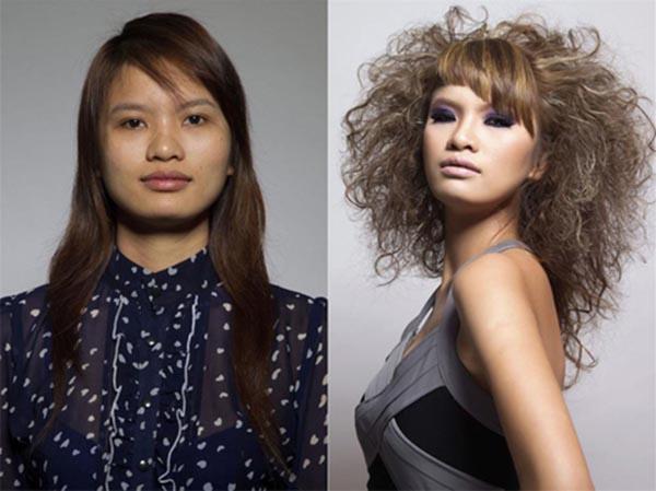 Lê Thị Phương được phát hiện từ sân chơi Vietnams Next Top Model 2011. Ngày mới xuất hiện trên truyền hình, cô được gắn mác gái quê với gương mặt thô kệch, cùng gu thời trang kém sang trọng.