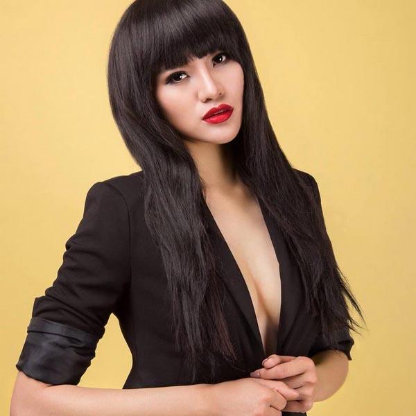 So với thời mới vào nghề, Lê Thị Phương thì hiện tại trông xinh đẹp và quyến rũ hơn xưa.
