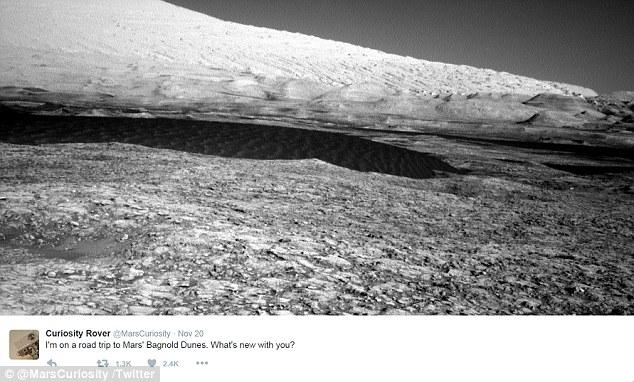 Ảnh chụp bề mặt sao Hỏa từ xa