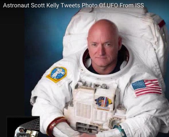 Phi hành gia Scott Kelly đã đăng tải bức ảnh trên trang tweet cá nhân và ngay lập tức thu hút sự quan tâm chia sẻ.