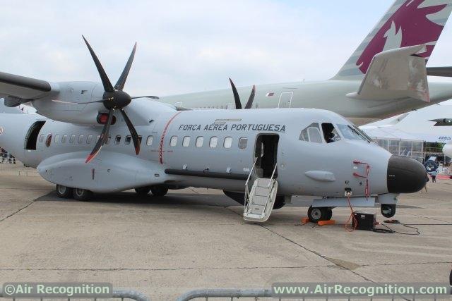 Máy bay C-295 MPA (phiên bản tuần thám biển) của Không quân Bồ Đào Nha.