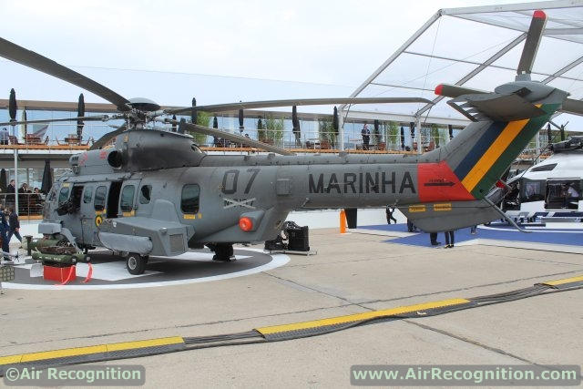 Trực thăng H225M Caracal do Airbus Helicopters chế tạo.