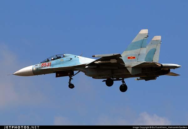 Su-30MK2 của Không quân nhân dân Việt Nam. Ảnh: Jetphotos.net.