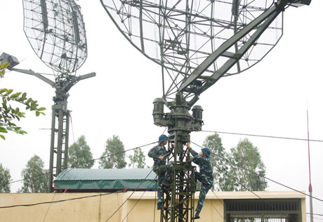 Radar bắt thấp Kasta-2E2 của Bộ đội Phòng không Việt Nam có cùng xuất xứ với Gamma-S1.