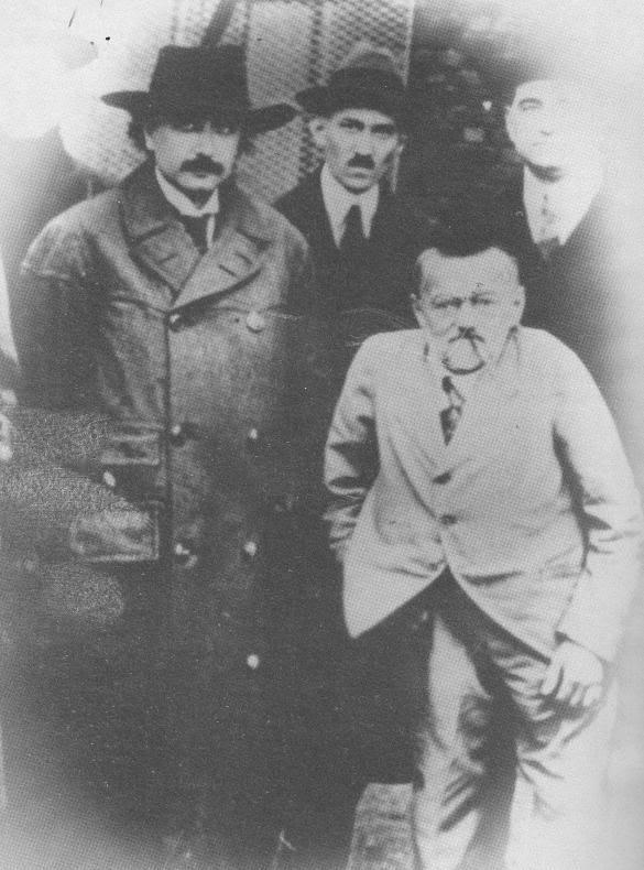 Tesla và Einstein (1920)