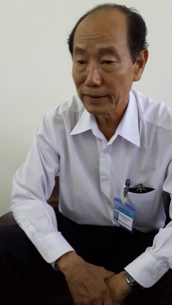Hiệu trưởng Dương Thái Công