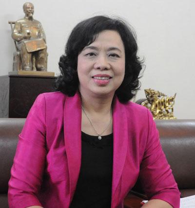 Bà Ngô Thị Thanh Hằng. Ảnh: Hà Nội mới