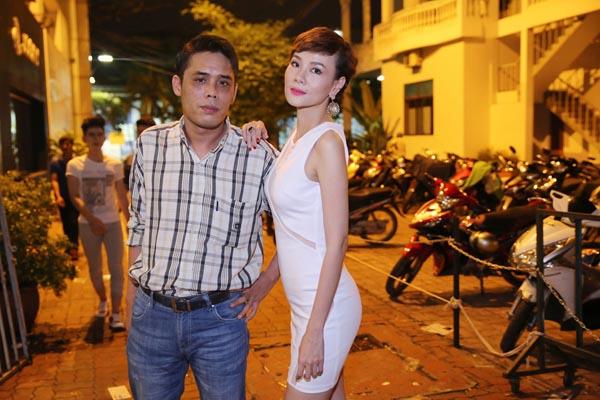 Dương Yến Ngọc và chồng cũ.
