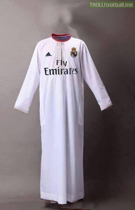 Áo mới của Real Madrid?