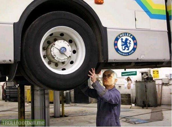 Chiếc xe bus của Mourinho